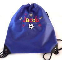 Personalised  star/hearts bag